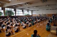 1年生の学年集会